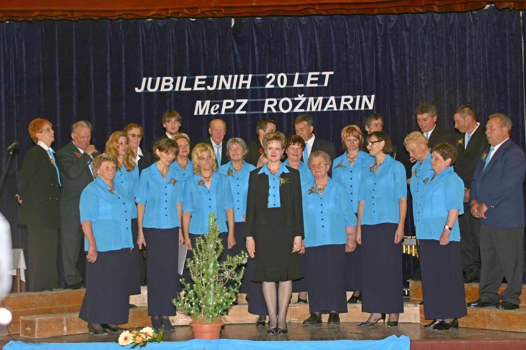 MePZ Rožmarin leta 2006