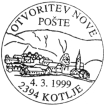Otvoritev pošte
