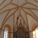 Slavolok nad prezbiterijem