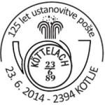 125 let ustanovitve pošte